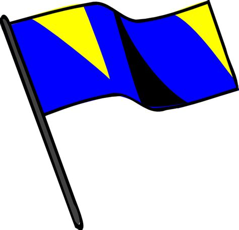 used color guard flags color guard flag clip at clker vector clip