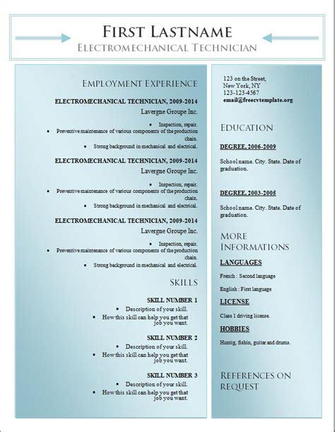 odt resume template resume template odt resume ideas