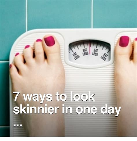 8 Ways To Look Skinnier In Just A Few Minutes by Musely