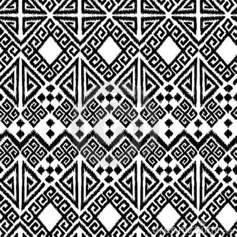 tribal geometric pattern ikat geometric royalty free stock photography image