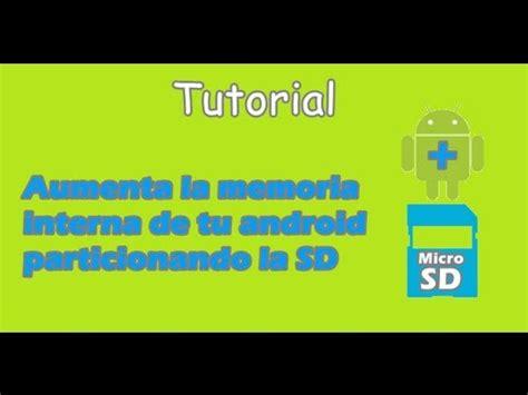 tutorial link2sd youtube amplia la memoria interna de tu android con link2sd