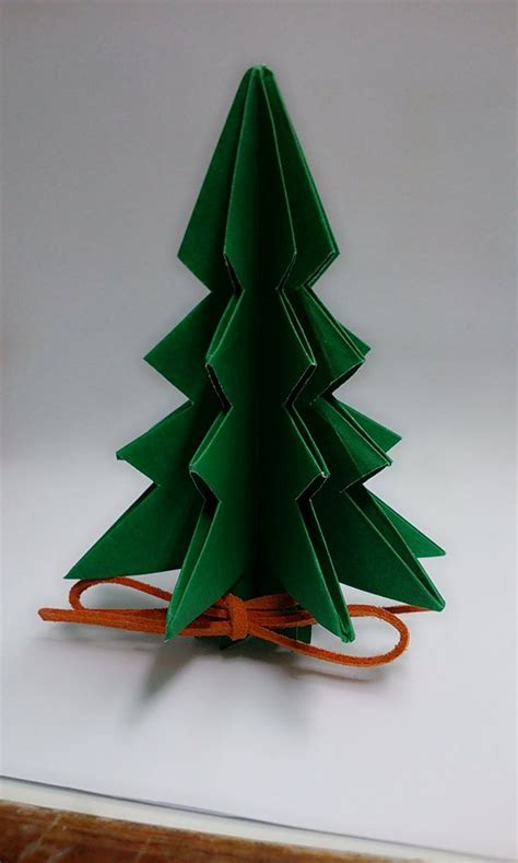 Paper Tree Origami - mini origami tree paper craft
