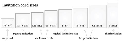 Wedding Card Size Template by What Is The Standard Wedding Invitation Size Everafterguide
