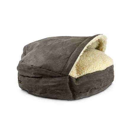 cave pet bed snoozer luxury orthopedic cozy cave pet bed in dark