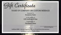 travel gift certificate templates easy to use gift