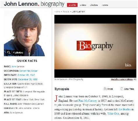 john lennon biography corta the great dreamer integrar