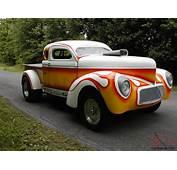 1940 WILLYS HEMI V8 STEEL HOT RAT STREET OLD DRAG RACING