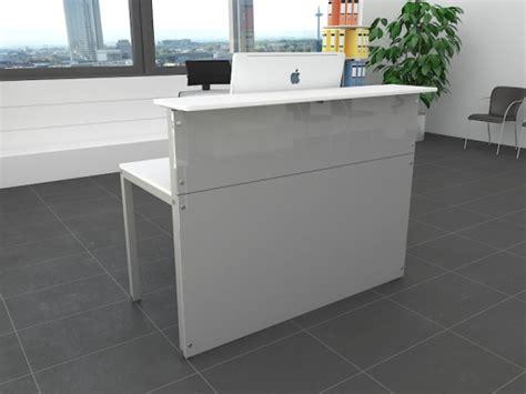 bureau d accueil pas cher bureaux d accueil contemporain en bois blanc achat