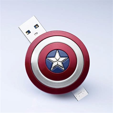 Dompet Captain America Shield captain america shield stick 187 gadget flow