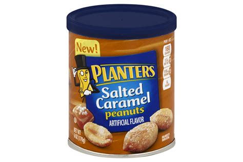 Salted Caramel Peanuts Planters by Planters Salted Caramel Peanuts 6 Oz Kraft Recipes