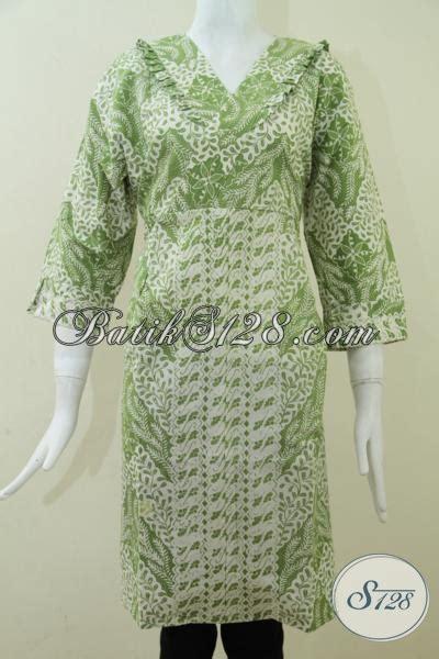 Dress Batik Jumbo Wanita 107pue dress batik untuk wanita gemuk dress batik ukuran jumbo