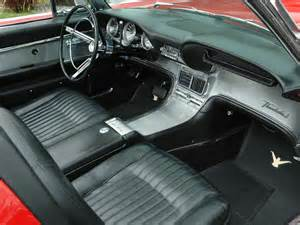 1962 Thunderbird Interior 1962 ford thunderbird convertible 81778