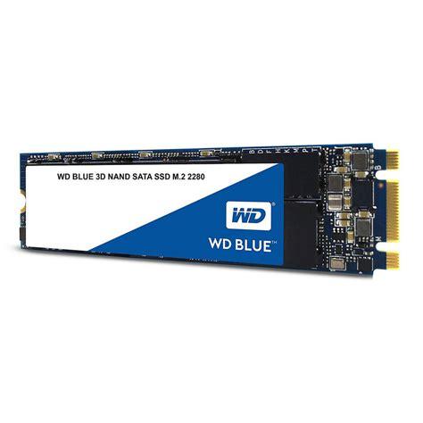 Wd Blue Ssd 2 5 500gb Sata Biru western digital blue 3d nand sata ssd m 2 2280 500gb