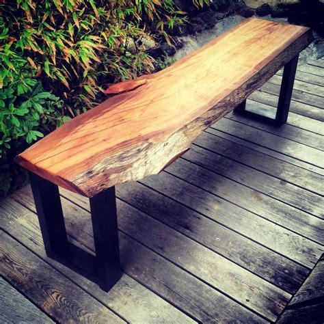 eucalyptus bench custom live edge eucalyptus bench by the timber library custommade com