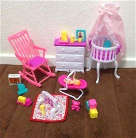 barbie doll house furniture sets new barbie size dollhouse furniture gloria baby home nursery set