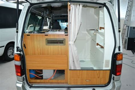 conversion van with bathroom toyota hiace cer conversion google search cervan