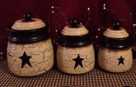 primitive kitchen canister sets the 25 best ideas about primitive canisters on