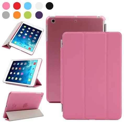 Smart Tablet Flip Leather Magnetic Ultra Slim Thin Mini 2 3 slim flip magnetic leather smart cover stand for apple mini 1 2 3 ebay