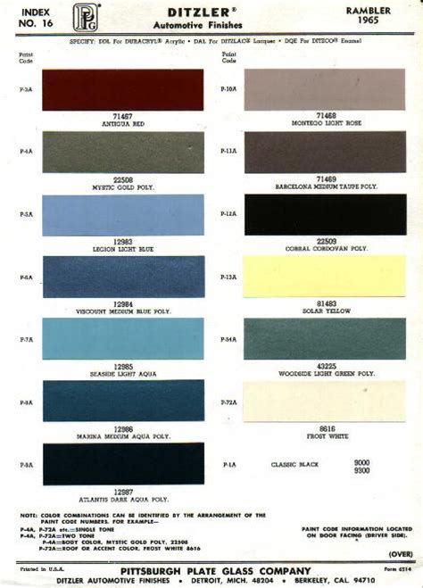 sem interior paint color chart pictures to pin on pinsdaddy