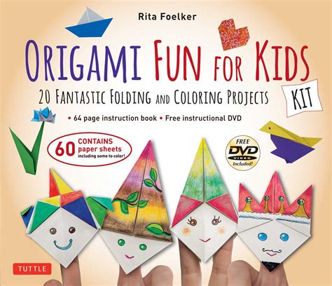 Origami For Children Book - origami for kit 20 fantastic folding and
