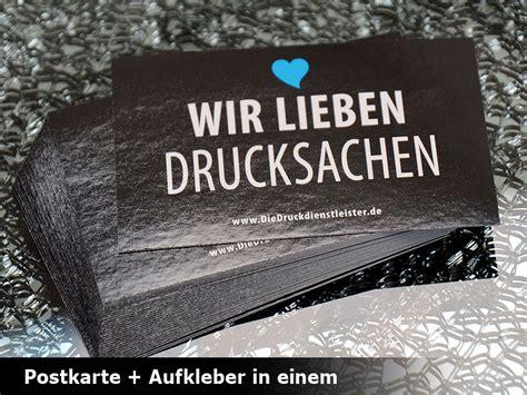 Postkarten Aufkleber Drucken by Postkartenaufkleber Drucken Schnell G 252 Nstig