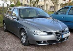 Alfa Romeo 156 Facelift Deflettori Antiturbo Alfa Romeo 156 Berlina Station W 4