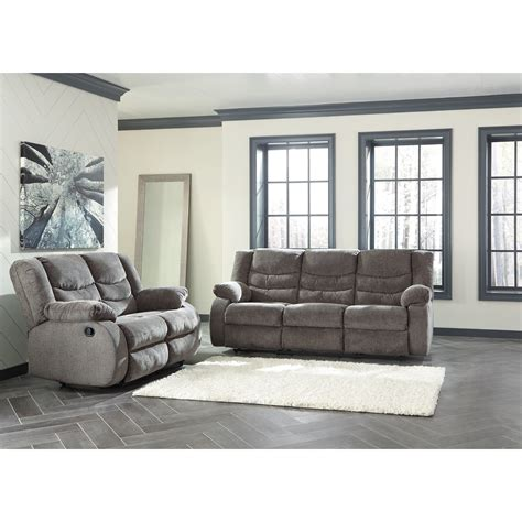 Home Design Outdoor Living Credit Card by Signature Design By Ashley Tulen Reclining Living Room