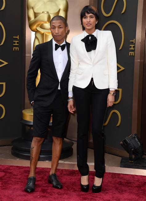 pharrell williams and helen lasichanh photos academy
