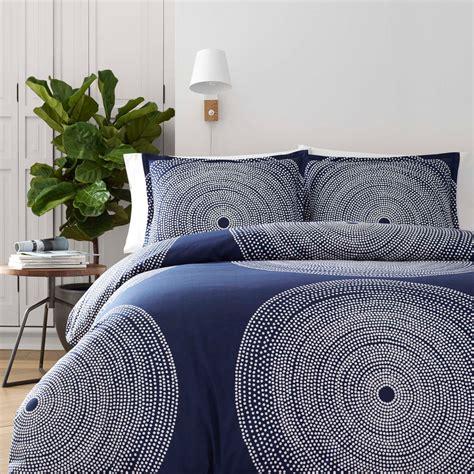 blue twin comforter set marimekko fokus blue twin comforter set 50 off sale