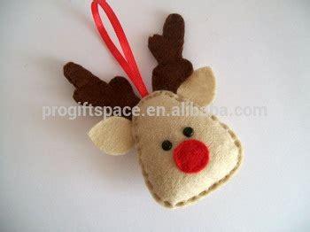buy chinese made christmas bulbs in bulk 2018 fashion eco new handmade felt wholesale decorations fabric reindeer plush