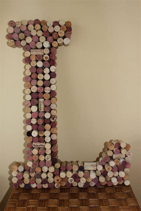 Wine Cork L by Wine Cork Wall Monogram Letter L Wine Cork By Anneliseday 189 00 Quot L Quot Cork
