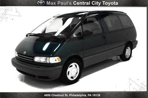 blue book value used cars 1994 toyota previa regenerative braking 1994 toyota previa black 200 interior and exterior images