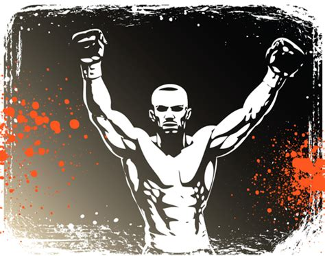 set of boxing design elements vector 01 over millions