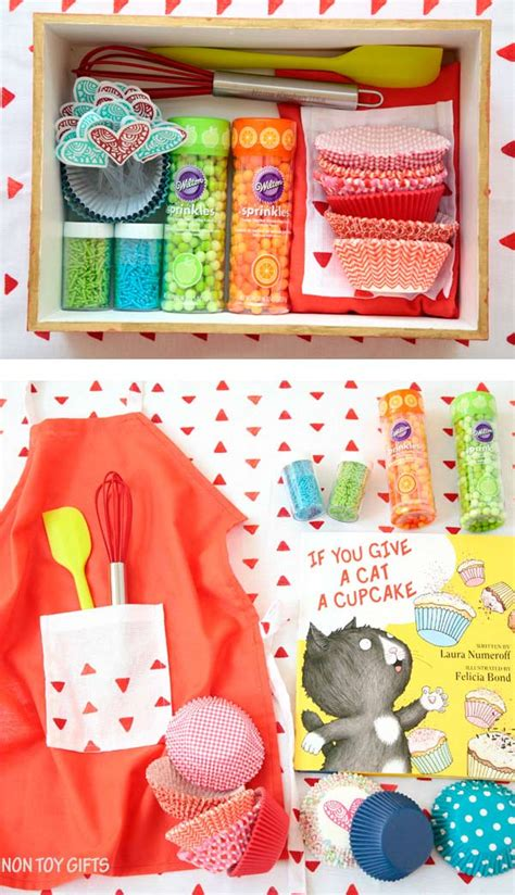 diy cupcake kit for kids non toy gifts