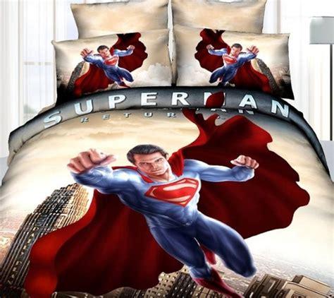 Set Superman 3d Sayap 12m superman bedding set