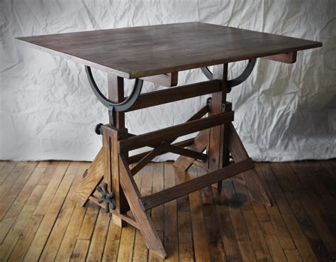 antique wood drafting table hartong international antiques design