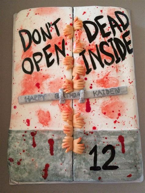 Walking Dead Cake Decorations by 25 Best Ideas About Walking Dead Cake On