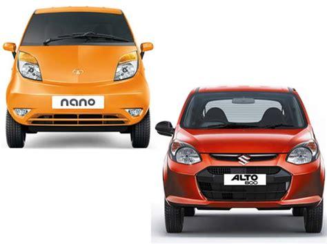 alto 800 price tata nano vs alto 800 comparison price mileage specs