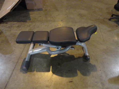 technogym adjustable bench midwest used fitness equipment technogym adjustable bench