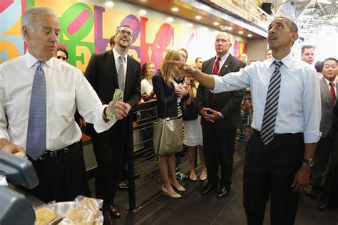 bid to buy obama biden photos show their bromance business insider