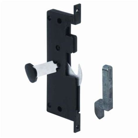 prime line mortise style sliding screen door hook latch a 121 the home depot