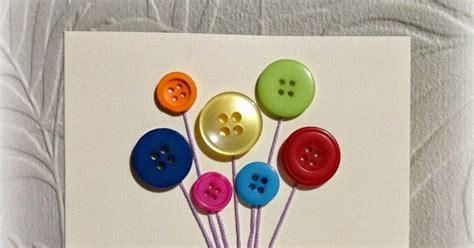 Handmade Button - handmade button gift card craft gift ideas