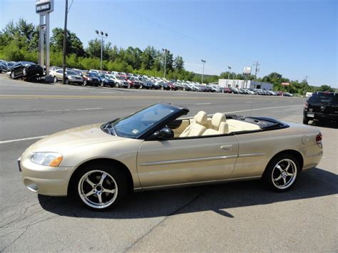 2001 Chrysler Sebring Convertible For Sale 2008 chrysler sebring for sale cargurus autos post