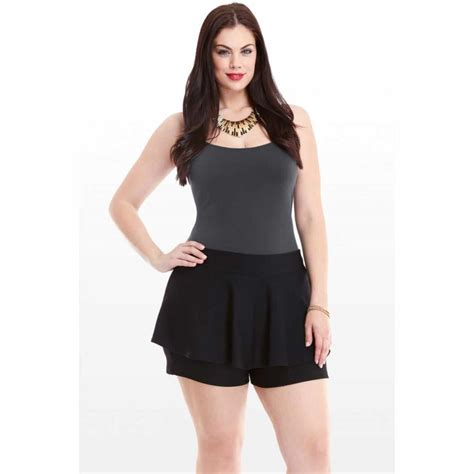 plus size ask the reader plus size peplum shorts could you