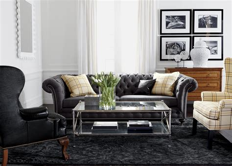 ethan allen living rooms classic chrome living room ethan allen