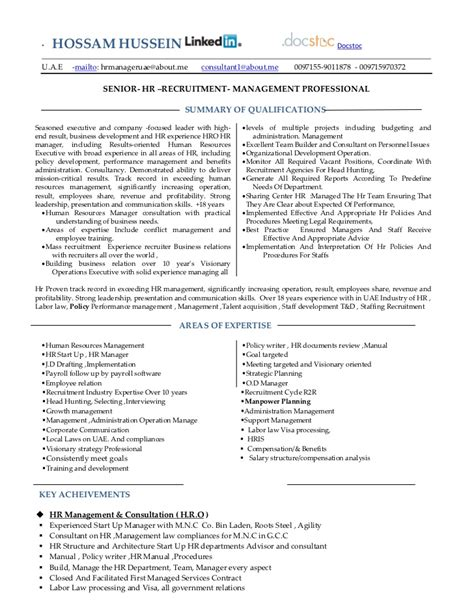 sle resume of hr executive appointment letter sle for hr manager 28 images