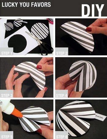 How To Make Fortune Cookies Out Of Paper - the world s catalog of ideas