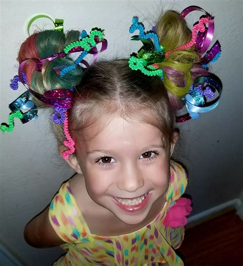 Hair Day hair day pipe cleaners and ribbon for hair