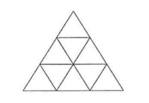 how many triangles are there in this diagram can you pass the 11 plus maths test for grammar schools