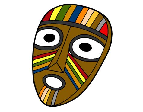 imagenes de olmecas para colorear dibujo de mascara olmeca pintado por reick en dibujos net